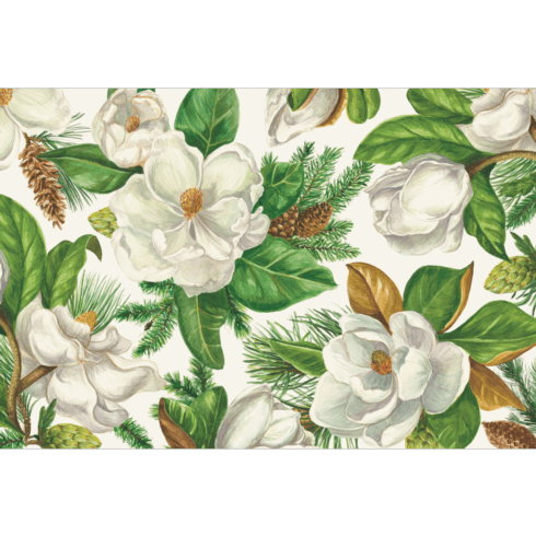 Magnolia Blooms Placemat - 24 Sheet Pack image