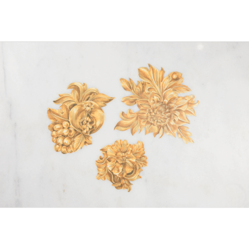 $15.00 Gold Flora Serving Confetti - Pack of 12