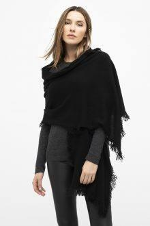 Fringe Wrap - Black