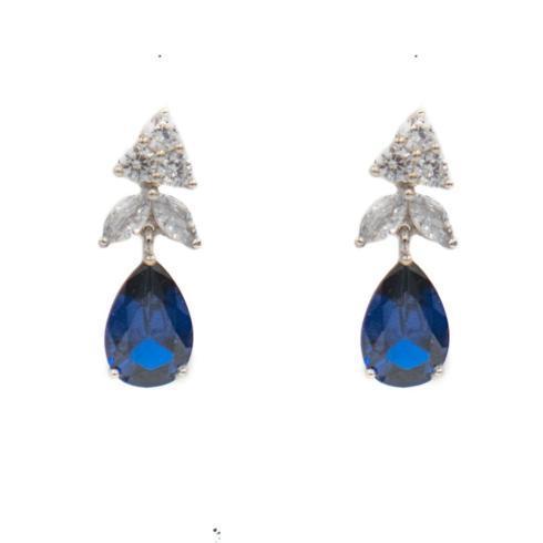 $235.00 Lizza Earring, Sapphire