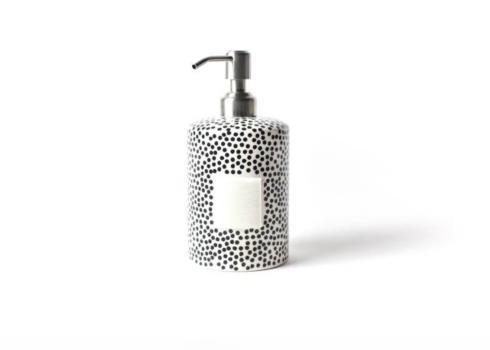 Black Small Dot Mini Cylinder Soap Pump collection with 1 products