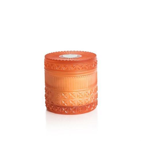 Capri Blue   Pomegranate Citrus Muse Faceted Jar Candle $36.00