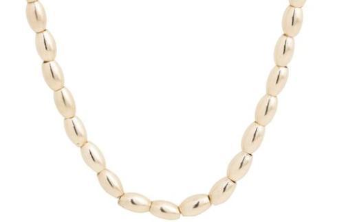 """$142.00 15"""" Choker Harmony Small Gold Bead"""