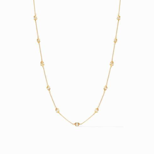 $135.00 Penelope Delicate Station Necklace