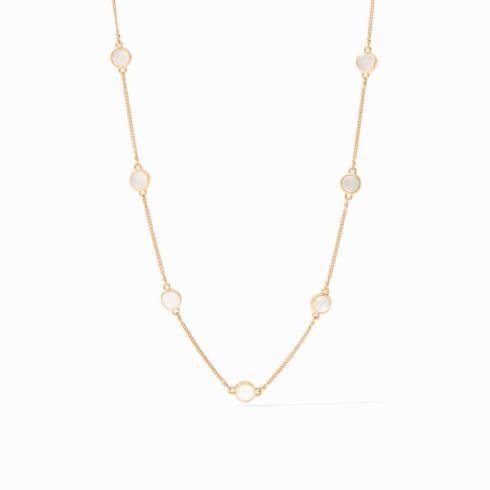 $185.00 Valencia station necklace, Mother of Pearl