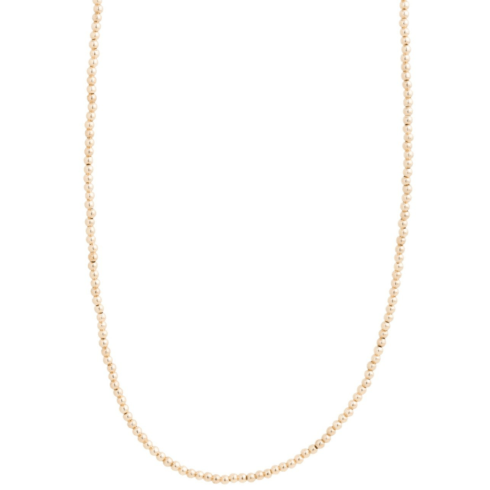 """$155.00 28.5"""" necklace classic gold 3mm bead"""