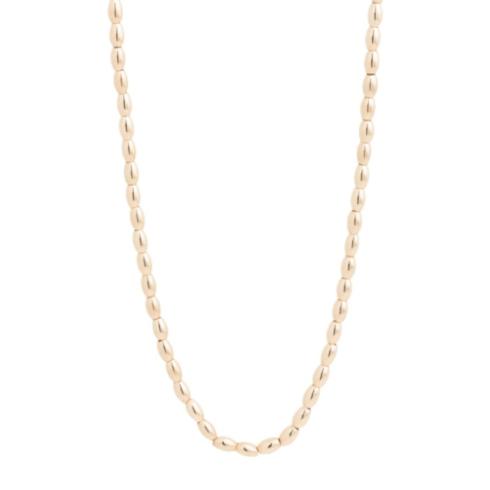 """$178.00 28.5"""" Necklace Harmony Small Gold Bead"""