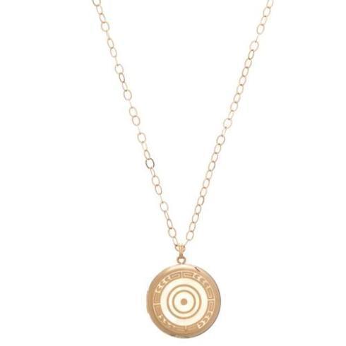 """$250.00 31"""" Necklace 14Kt Gold filled - Cherish Large Gold Locket"""