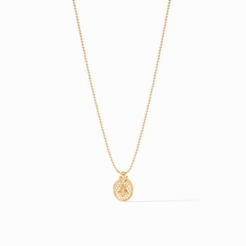 $135.00 Honeycomb Charm Necklace