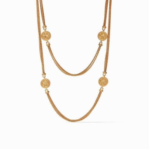 $225.00 Coin Infinity Necklace