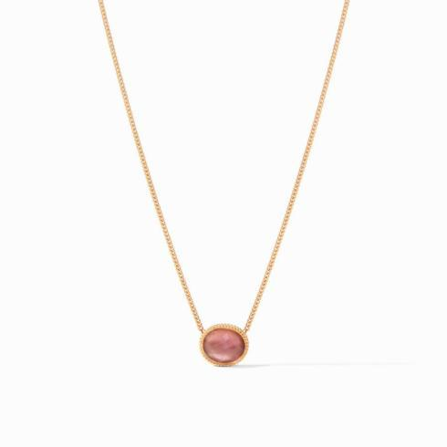 Verona Solitaire Necklace Iridescent Bordeaux collection with 1 products