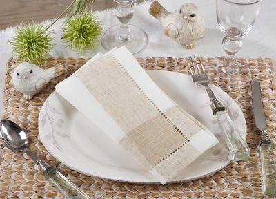 Hemstitch Napkin collection with 1 products