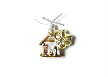 Neutral Nativity Shaped Ornament - Manger collection with 1 products
