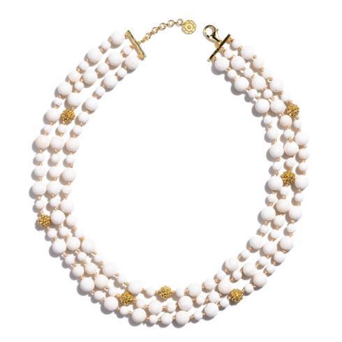 $395.00 Ocean Goddess 3 Strand Necklace