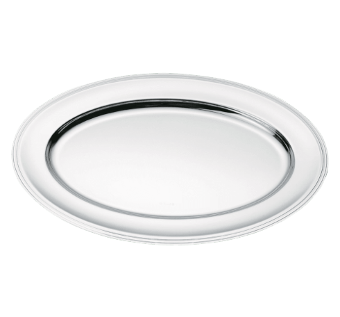Silver-Plated Oval Entree Platter
