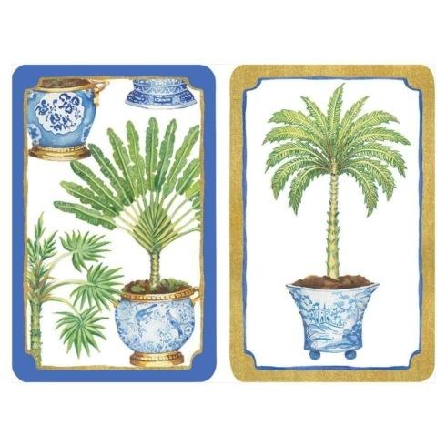 $17.00 Jumbo Playing Cards- Palms