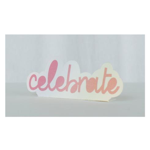 $9.25 Pop Up Tag- Celebrate