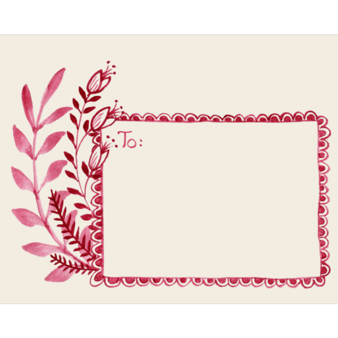 $5.50 Note Card Love Letter