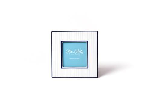 Coton Colors   Blue Pinstripe Square Frame $25.95