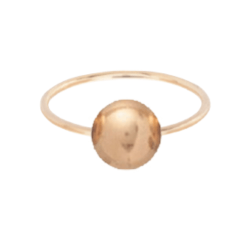 $38.00 Clarity Ball Ring - Gold - Size 6
