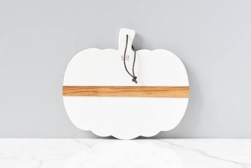 $135.00 White Mod Pumpkin Charcuterie Board, Small