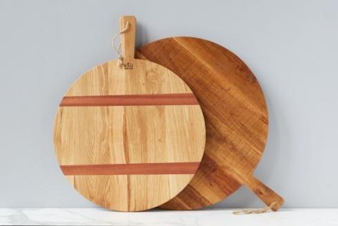 $185.00 Oak Rnd Charc Board