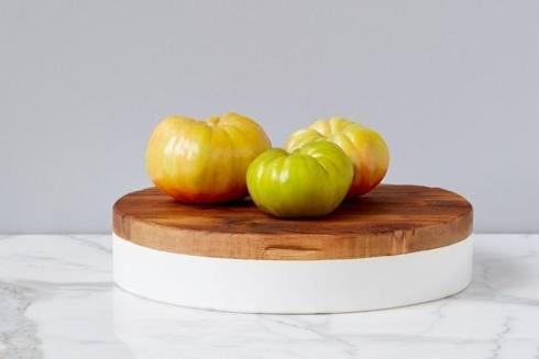 $198.00 White Round Mod Block, Large