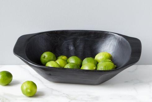 $150.00 Black Dough Bowl, Small