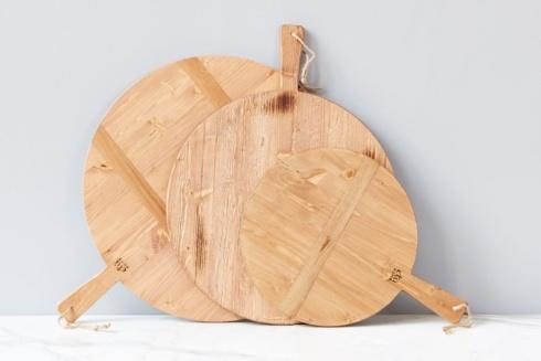 $95.00 Pine Rnd Charc Board