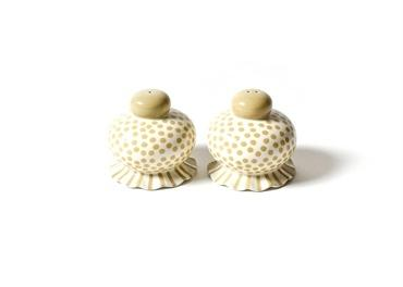 Cobble Small Dot Ruffle Salt And Pepper Shaker Set collection with 1 products