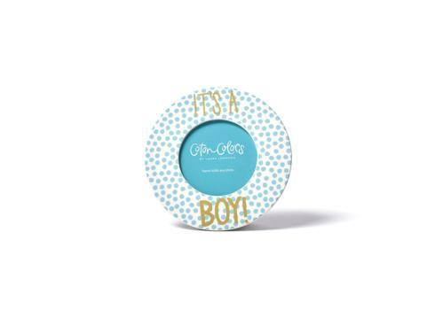 Small Dot Round Frame - It's A Boy! collection with 1 products