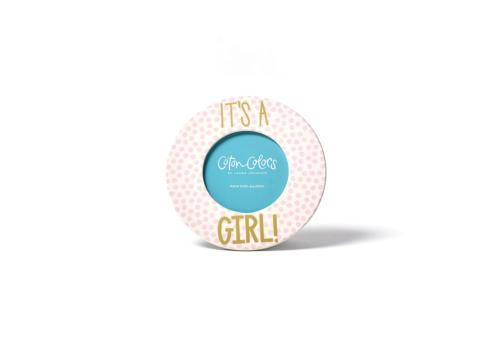 Small Dot Round Frame - It's A Girl! collection with 1 products