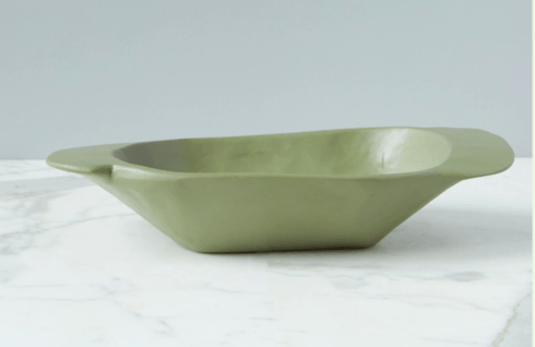 etúHOME   SAGE GREEN DOUGH BOWL $150.00