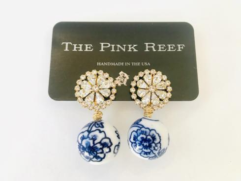 Chinoiserie with Crystal Burst Earring collection with 1 products