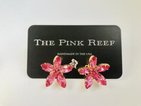 Pink Floral Burst Stud collection with 1 products