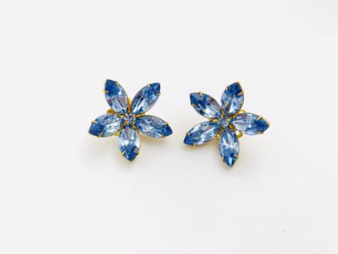 Blue Crystal Floral Burst Stud collection with 1 products