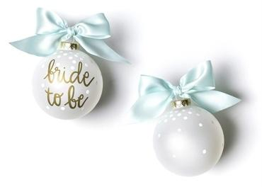 Bride To Be Glass Ornament collection with 1 products