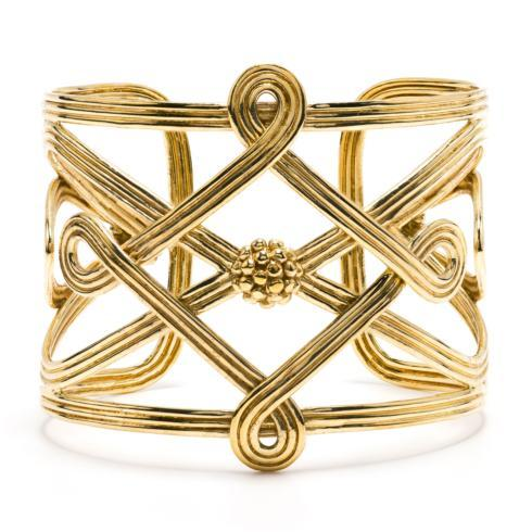 $225.00 Gold Monique Compass Cuff