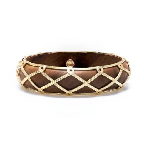 Earth Goddess Hinged Teak Bangle collection with 1 products