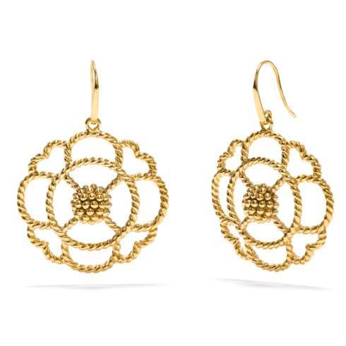 $175.50 Capucine Grande Gold Earrings