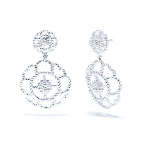$157.50 Capucine Double Earrings, Silver