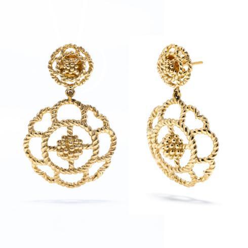 $175.50 Capucine Double Earrings, Gold