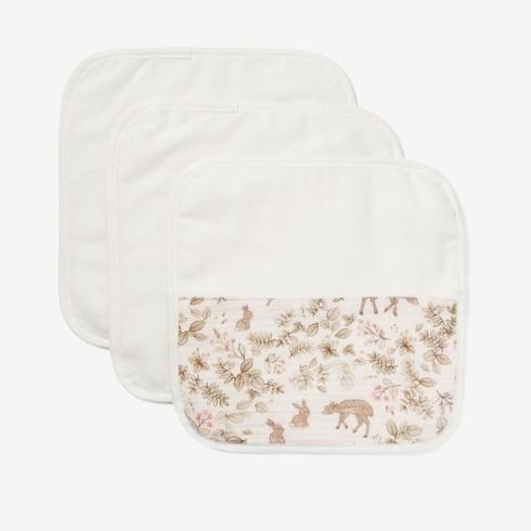 Elegant Baby   Woodland Print Organic Washcloth Set $17.00