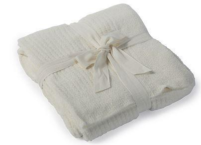 CozyChic Lite Ribbed Throw Pearl