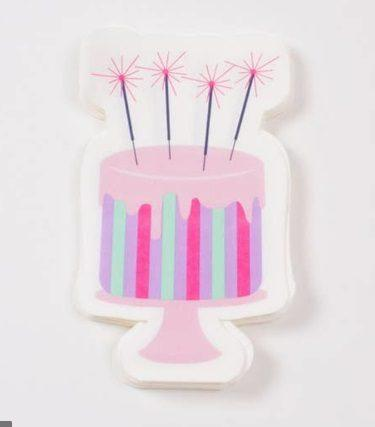 $9.50 DieCut Birthday Cake Napkins