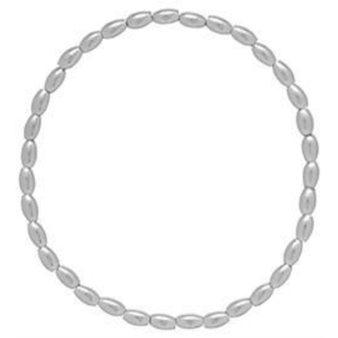 $50.00 Harmony Small Sterling Bead Bracelet