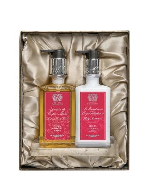 $78.00 Peonia, Gardenia & Rosa Bath & Body Gift Set