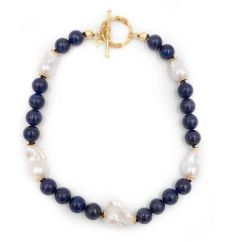 $256.00 Annabelle Lapis Necklace