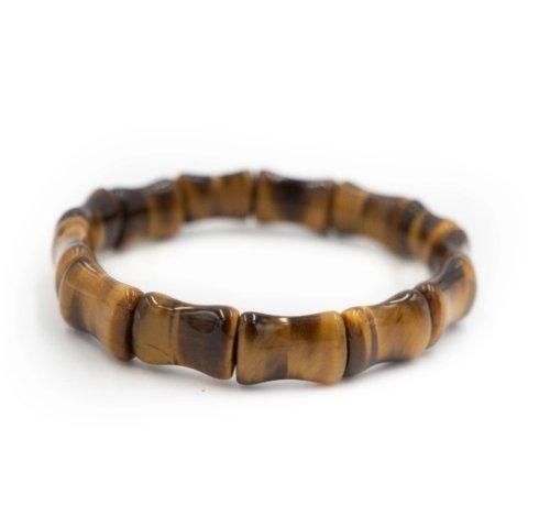 Bamboo Bangle Tigers Eye collection with 1 products