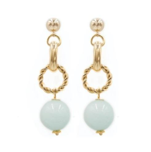 Hazel Aqua Jade Earring collection with 1 products